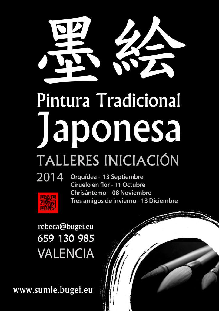 cartel_pinturaJaponesa_cursos2014