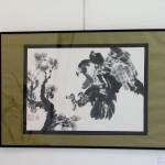 Halcón - Pintura Japonesa Sumi-e