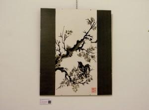Primavera -  Pintura Japonesa Sumi-e