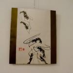 Gambas -  Pintura Japonesa Sumi-e