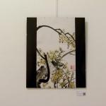 Arbol Florido - Pintura Japonesa Sumi-e