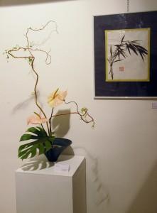 Pintura Sumi-e e Ikebana