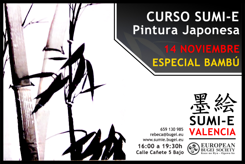 curso_pintura_sumie_japonesa_valencia_ESPECIAL_BAMBU_OK