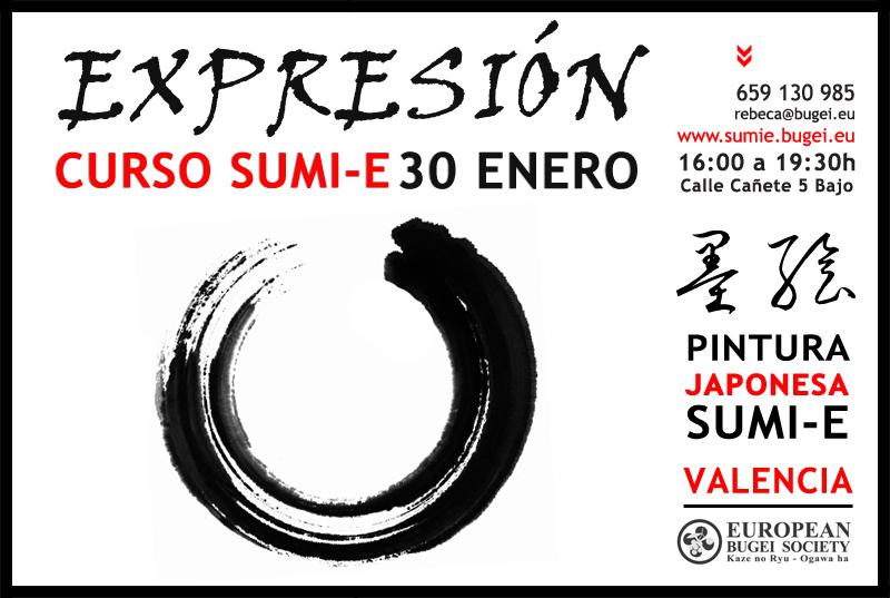curso_pintura_sumie_japonesa_valencia_EXPRESION_ENERO2016